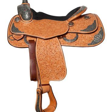 obrázek: Bob´s Custom Show Saddle (B11-57) - unikátní westernové sedlo