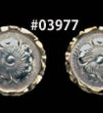obrázek: Silver Plate Number Gold Concho