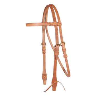 obrázek: Billy Royal® Harness Leather Browband Bridle