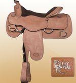 "obrázek: Billy Royal® Pro-Work Western Saddle 16"" FQH Bars"