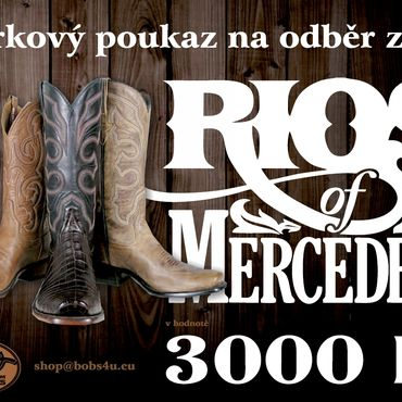 obrázek: Dárkový poukaz na nákup za 3.000 Kč