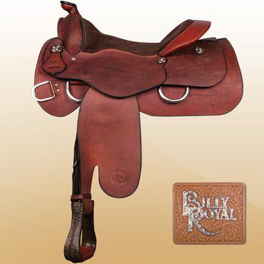 "obrázek: Billy Royal® Comfort Classic II Western Work Saddle 16"" FQH Bars"