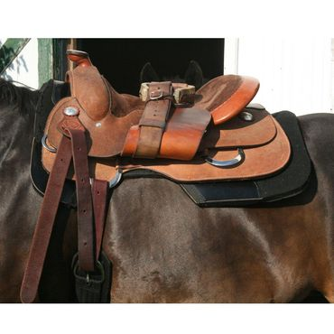 Billy Royal® Comfort Classic II Western Work Saddle 16