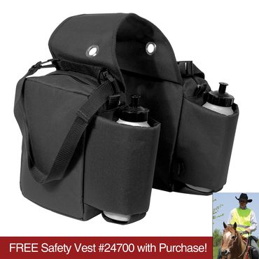 obrázek: Dura-Tech® Double Sided Saddle Bag with Water Bottles